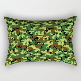 camouflage militaire Rectangular Pillow