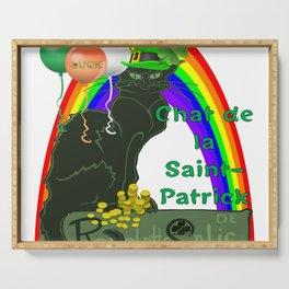 Chat De La St Patrick De Rodolphe Salis Serving Tray