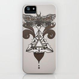 Moth Mediator iPhone Case