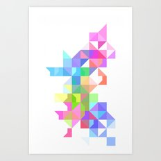 Color Love Art Print