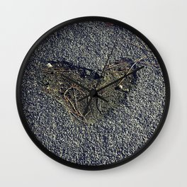 A Heart on the Road Wall Clock