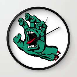 CATCH AND BITE Wall Clock