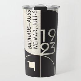 Bauhaus Exhibition Art Travel Mug