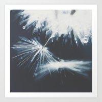 indigo Art Prints featuring indigo by Ingrid Beddoes