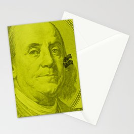Benjamin Light (green lemon) Stationery Cards