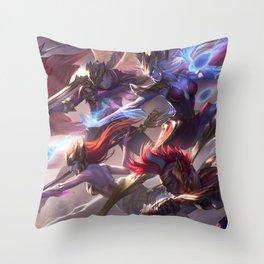 Skt Throw Pillows Society6