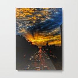 LastChicagoSunset Metal Print