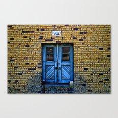 Blue Door 64 Canvas Print