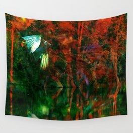 Strange Lake Wall Tapestry