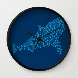 School Of Camouflage Wall Clock