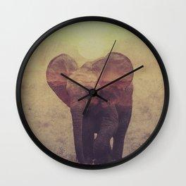 Little ones: Elephant Wall Clock