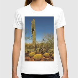 Saguaro and Mother in Law Pillow T-shirt