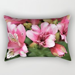 Passionate Pink Petals - Hope Rectangular Pillow