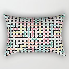 Network Analysis Rectangular Pillow