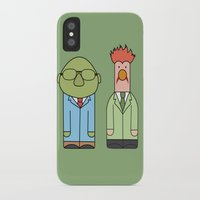 muppets iPhone & iPod Cases featuring Bunsen & Beaker – The Muppets by Big Purple Glasses