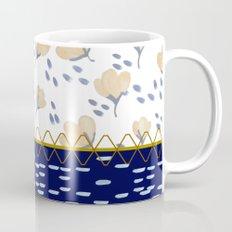 Stitched poppies Mug
