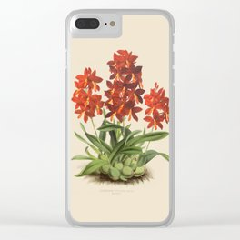 R. Warner & B.S. Williams - The Orchid Album - vol 01 - plate 004 Clear iPhone Case