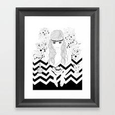 Alice in Wonderland Series - Eat me Framed Art Print