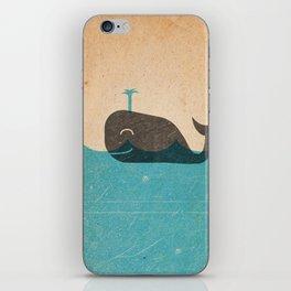 Whales Wail iPhone Skin