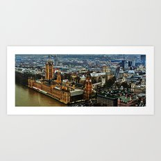 Big Ben - Elizabeth Tower Art Print