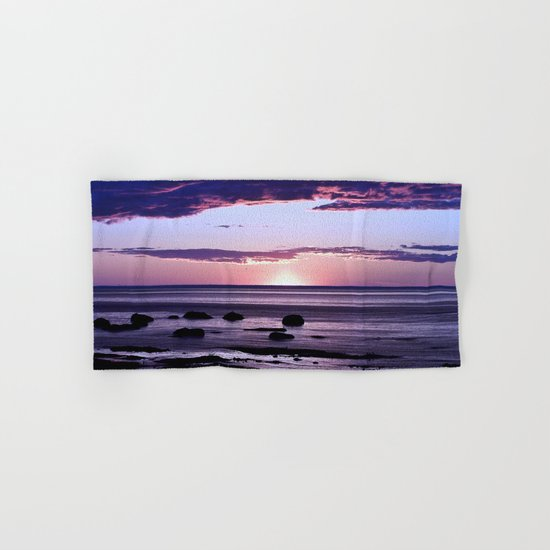 Coastal Sunset Sainte-Anne-Des-Monts Hand & Bath Towel