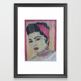 Sophia My Beautiful Framed Art Print