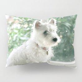Cute puppy by Lydia Tan Pillow Sham