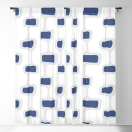 Mid Century Shapes 2 Blackout Curtain