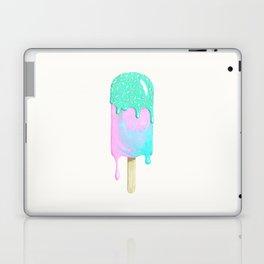 Melty ice cream painting Laptop & iPad Skin