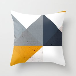Modern Geometric 19/2 Throw Pillow