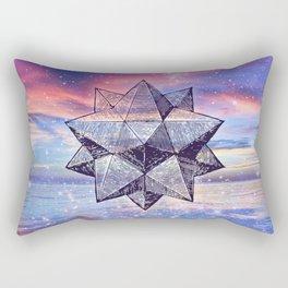 Sacred Geometry Universe 8 Rectangular Pillow