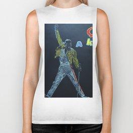Freddie & Mercury A kind of Magic Tribute Biker Tank