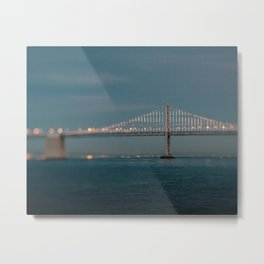 Bay Bridge (75th Anniversary) Metal Print