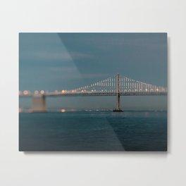 Bay Bridge (75th Anniversary) Metal Print