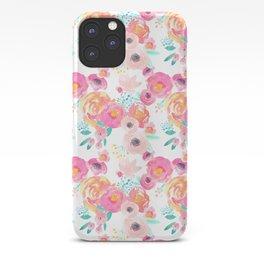 Indy Bloom Design Blush White Florals iPhone Case
