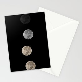 Super Moon 2011 Stationery Cards