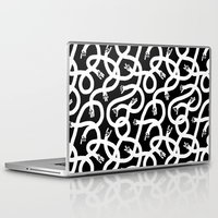 hands Laptop & iPad Skins featuring Hands Hands Hands by Heiko Windisch