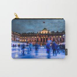 Ice Skating At Somerset House, London Carry-All Pouch