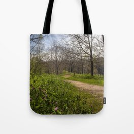Troubled summer woods Tote Bag