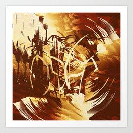Afrikanische Krieger Art Print