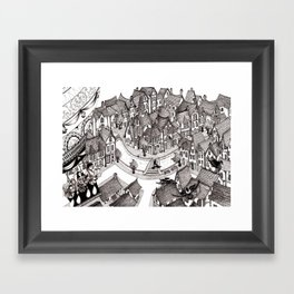 Up With The Birds Framed Art Print