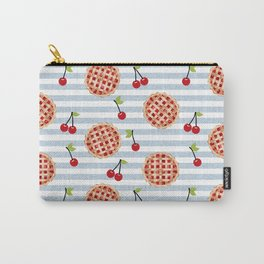 Pies with stripes trendy food fight apparel and gifts Carry-All Pouch