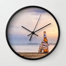 Here's my beer! Wall Clock