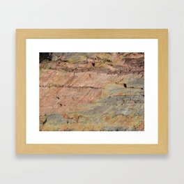 Colors of the Fountain Formation Framed Art Print