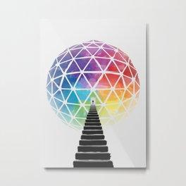 Geodream Light Metal Print