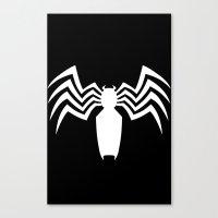 venom Canvas Prints featuring Venom by Sport_Designs