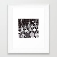 movies Framed Art Prints featuring The movies by Margarida Esteves