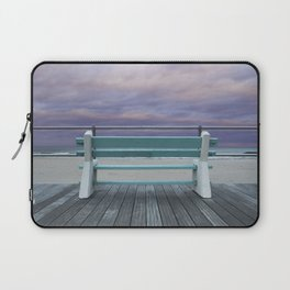 Jersey Shore Bench Laptop Sleeve