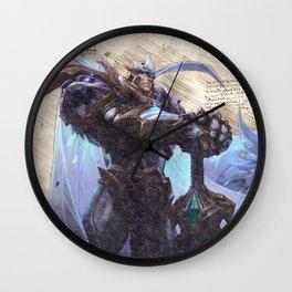 God King Garen skin da vinci style artwork Wall Clock