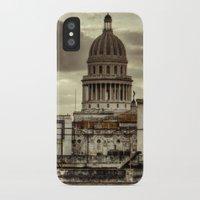cuba iPhone & iPod Cases featuring CUBA - CAPITOLIO by mayavisual